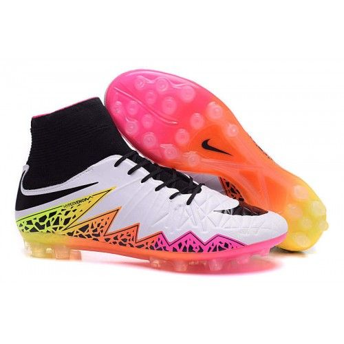 Buy Nike Hypervenom AG Black White Orange Pink Football Boots