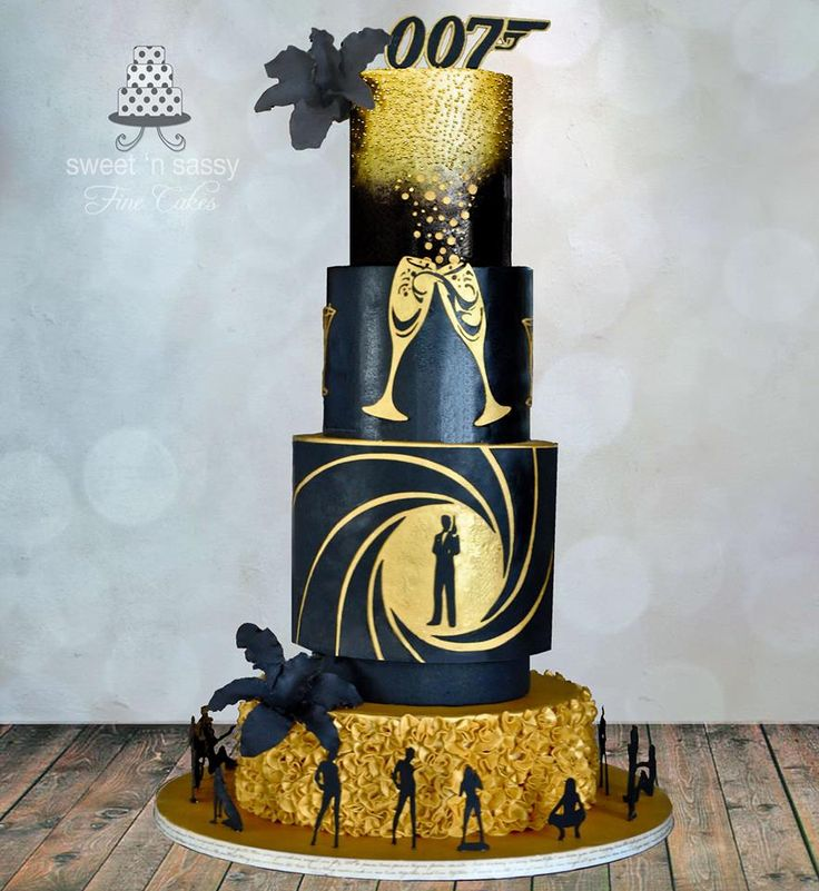 78 best ideas about james bond cake on pinterest james for Decor 007