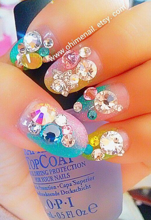 20 best nail art japonais images on Pinterest | Japanese nail art ...