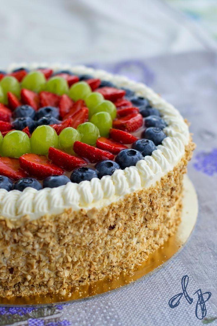 Dolcepassione: [IT/ES] Torta alla frutta/Tarta de fruta Fruit cake