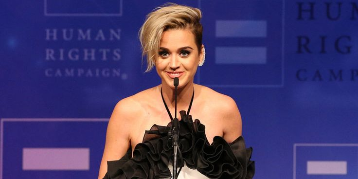 Katy Perry Delivered a Moving Speech About Her Sexuality at the Human Rights Campaign Gala