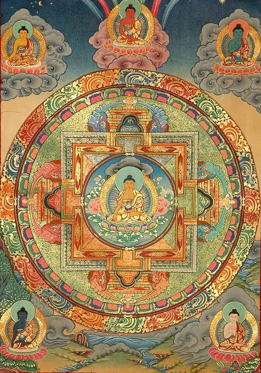 Scopriamo il valore simbolico del Buddha Primordiale (Adhibuddha) e dei 5 Buddha Cosmici (Jina) nella raffinata teogonia del Buddhismo Tibetano