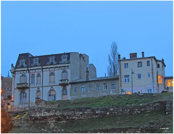 Constanta old city buildings