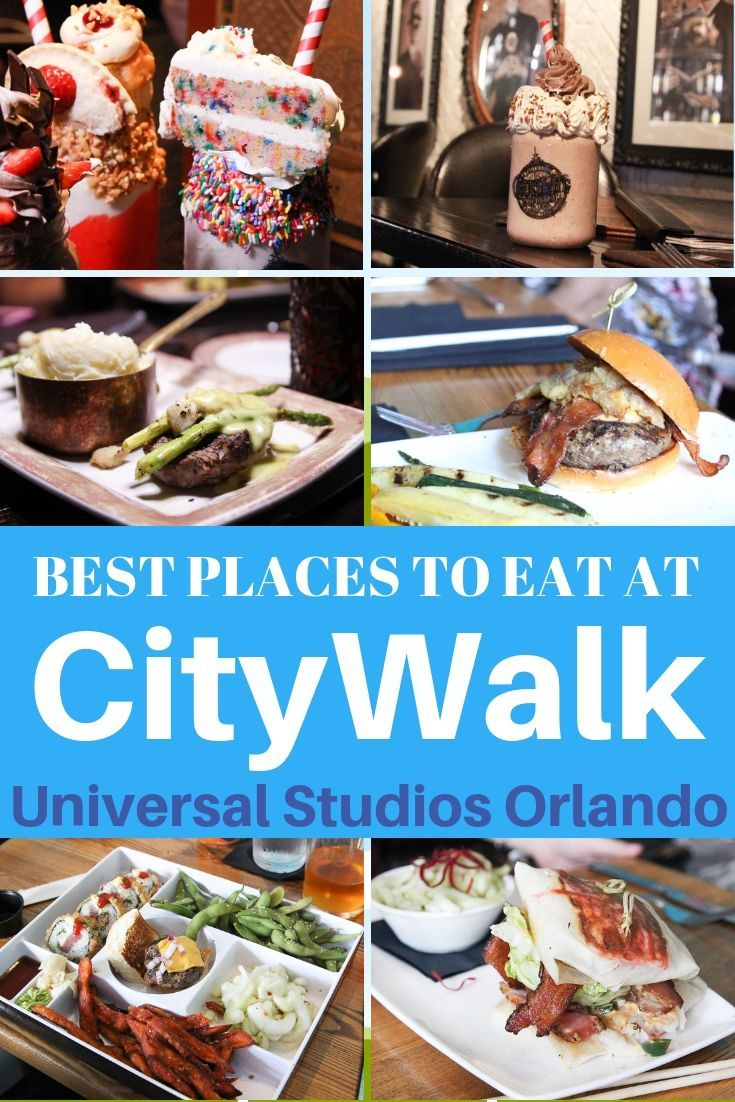 Best Restaurants In Universal Citywalk That Are Worth The