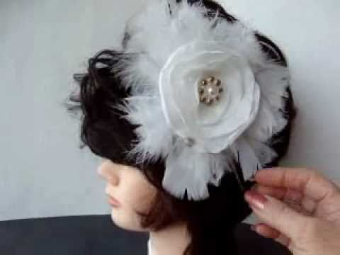 Make your own veil, hair accessories, and jewelry.