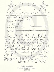 Free Primitive Embroidery Patterns | ... Patterns and Primitive E-Patterns and Primitive Digital Embroidery