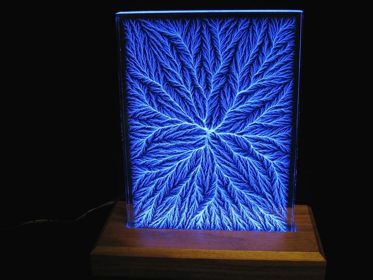 glass sculptures - Sculptures: Captured Lightning