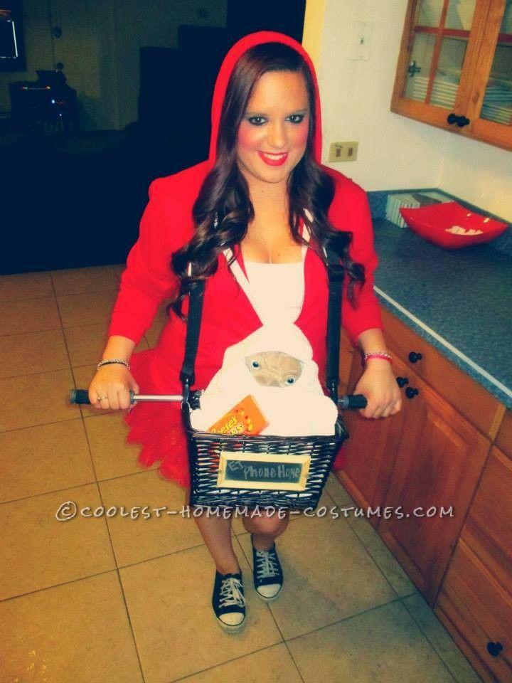 last minute elliot and et costume for girls halloween costume contestcostume ideashalloween - Last Minute Costume Ideas For Halloween