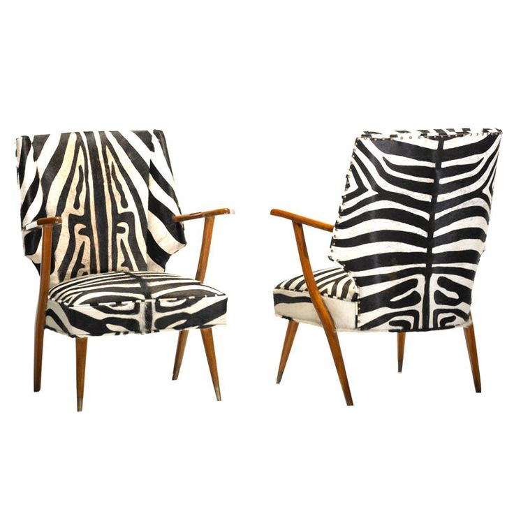 Cowhide Barstools Vintage Black White Hairhide Leather Bar: 25+ Best Ideas About Zebra Chair On Pinterest