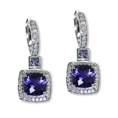 Here's one additional beautiful colorful gemstone earrings - Parris Jewelers