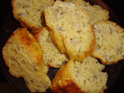 Bucataria cu noroc - Chec aperitiv cu ciuperci