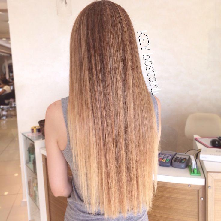 Ombre, Hair , hairstyles , blonde , blondie , longhair , balayage , saç , saç stilleri , sarı , sarısaç ,  balyaj, keykuafor , wavy hair , dalgalı saç ,straight hair , düz saç