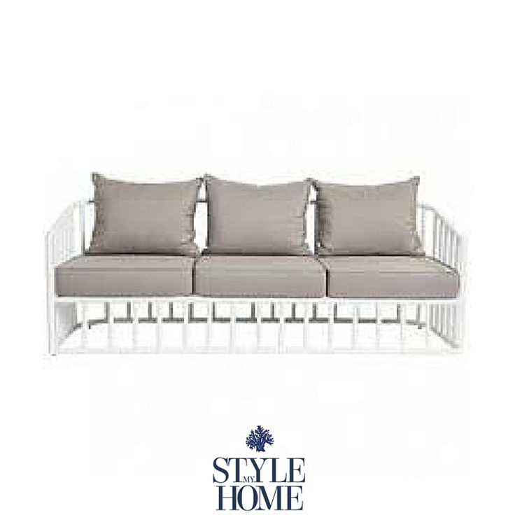 Hamptons Style Beach Style Outdoor Furniture Lounge from Style My Home Australia