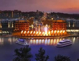 I love the water/fire show on Branson landing!