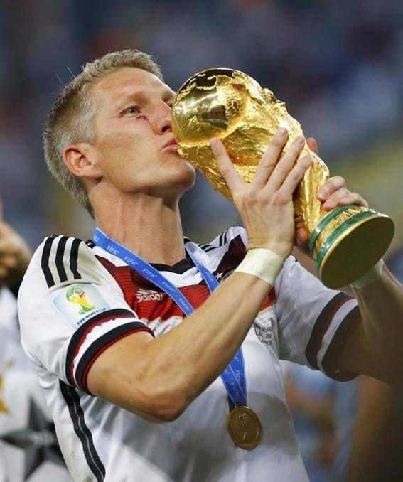 Bastian Schweinsteiger 13/07/2014 Maracanã