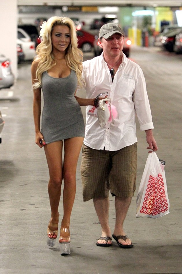 Courtney Stodden, 16, And Doug Hutchison, 50 Let's Be
