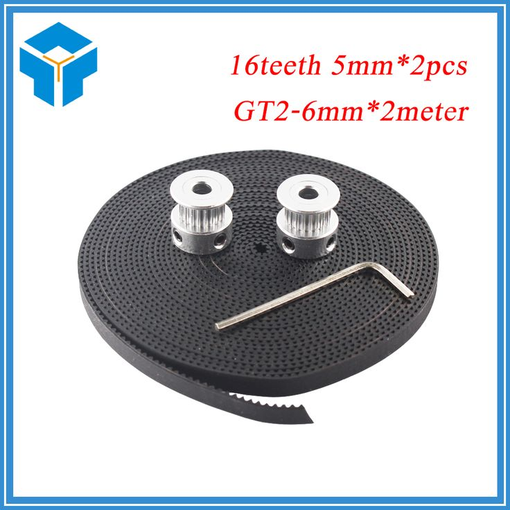 <b>Hot 3D Printer Parts</b> Accessory 2pcs GT2 16teeth 16 teeth Timing ...