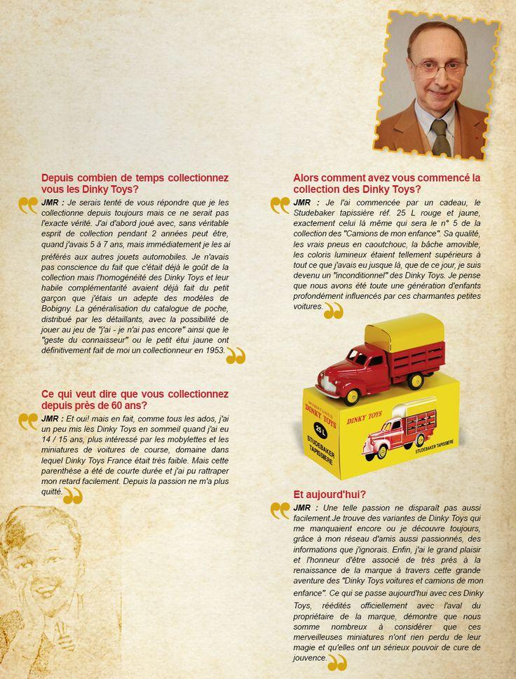 Jean-Michel ROULET et les Dinky Toys : une passion