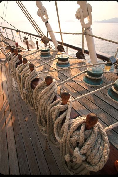 All hands on deck! Star Clipper ahoy!