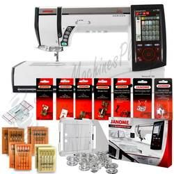 Janome Memory Craft Horizon MC12000 Professional Embroidery, Sewing & Quilting Machine with FREE BONUS