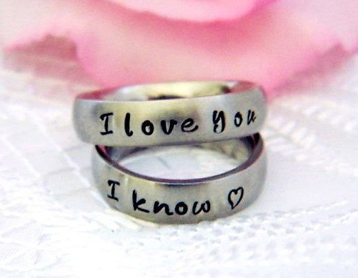 Hey, I found this really awesome Etsy listing at https://www.etsy.com/listing/166749177/set-of-2-rings-2-rings-matching-couples