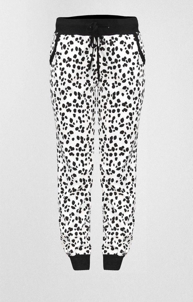 Γυναικείο παντελόνι φόρμας με τύπωμα   Γυναίκα - Φόρμες   Metal Λευκό