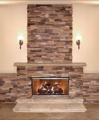 8 warm cozy stone fireplace surrounds