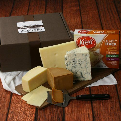 Scandinavian Cheese Assortment in Gift Box (3.7 pound) by igourmet - http://mygourmetgifts.com/scandinavian-cheese-assortment-in-gift-box-3-7-pound-by-igourmet/