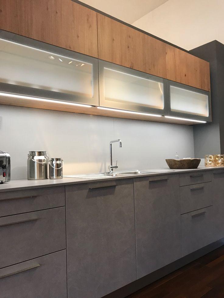 k che in betonoptik k chenideen k che k che. Black Bedroom Furniture Sets. Home Design Ideas