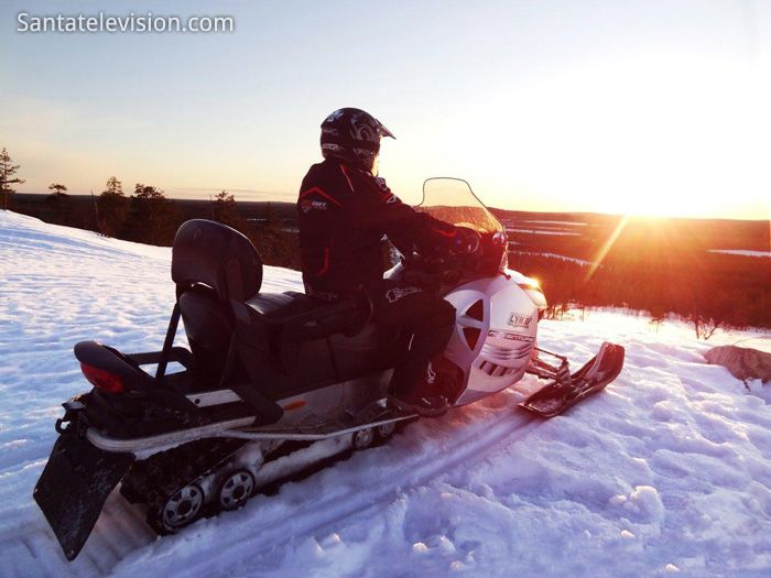 Rovaniemi - paradis for snowmobiling