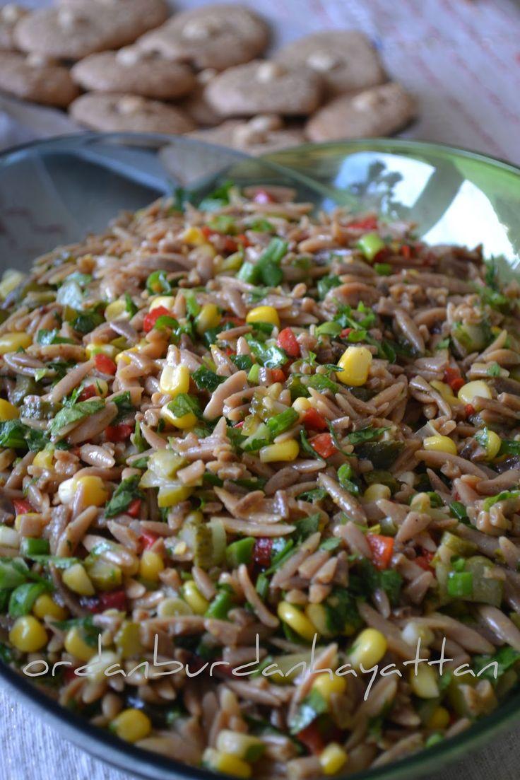 ordan burdan hayattan: Arpa Şehriye Salatası