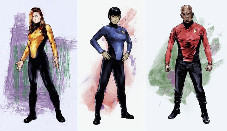 Star Trek Parallel Lives costume designs by gattadonna.deviantart.com on @deviantART