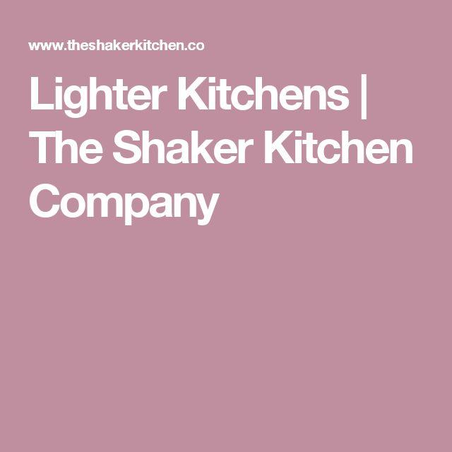 Die besten 25+ Shaker kitchen company Ideen auf Pinterest | Grauer ... | {Küche und co 15}