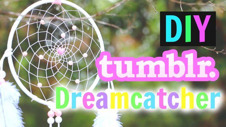 DIY Tumblr Dreamcatcher Tutorial! How To Make A Dreamcatcher!