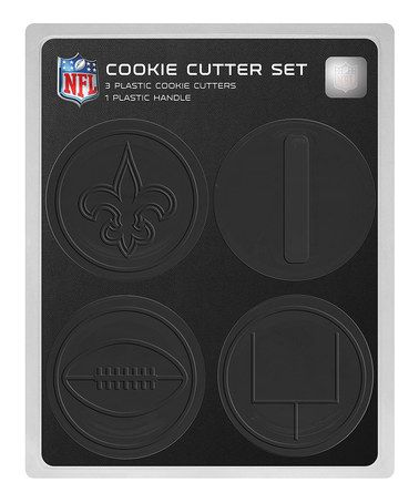 Take a look at this New Orleans Saints Cookie Cutter Set by Boelter Brands on #zulily today!