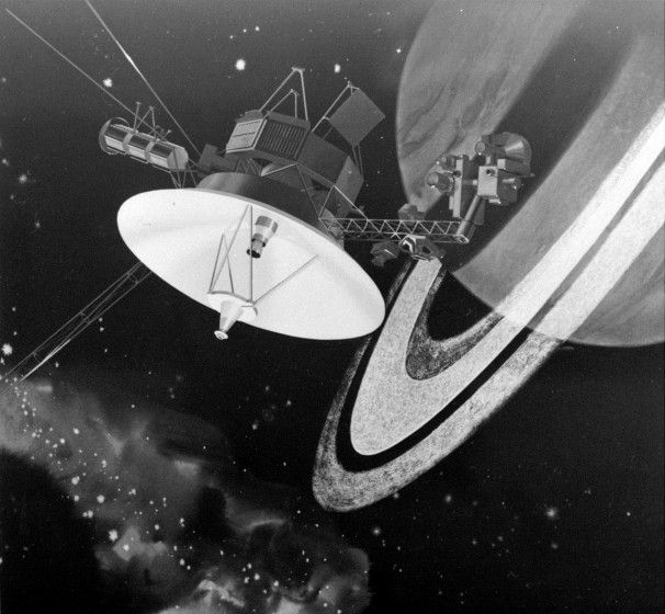 Voyager I, an unmanned craft which has traveled over 11 ...