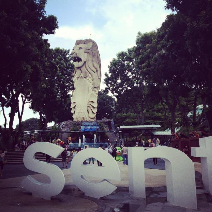 Merlion @ Sentosa Island, Singapore