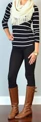 great looks with skinny jeans and riding boots