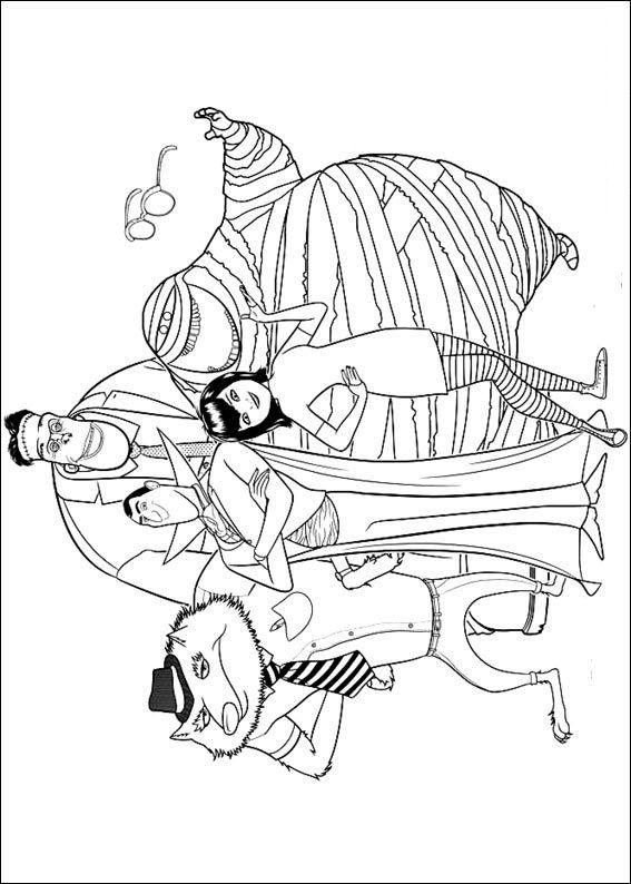 Guarda altri disegni da colorare di Hotel Transylvania su www.bambinievacanze.com