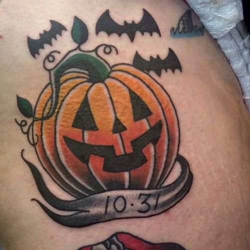 pumpkin tattoo - Google Search