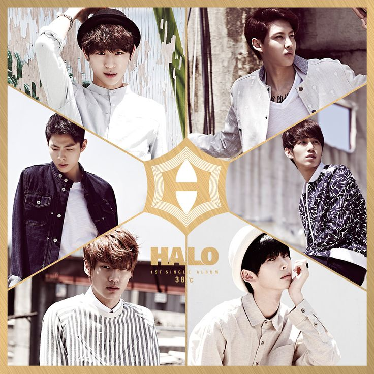 HALO - HALO 1ST SINGLE ALBUM [38℃] Ok, guys....am I the only one who thinks the one on the top left looks a lot like Suga?