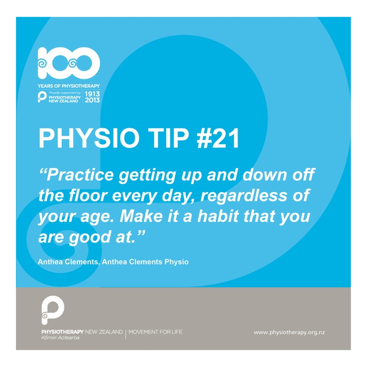 practice! #physiotips