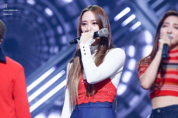 151105 Krystal = Mnet M! Countdown #4Walls1stWin