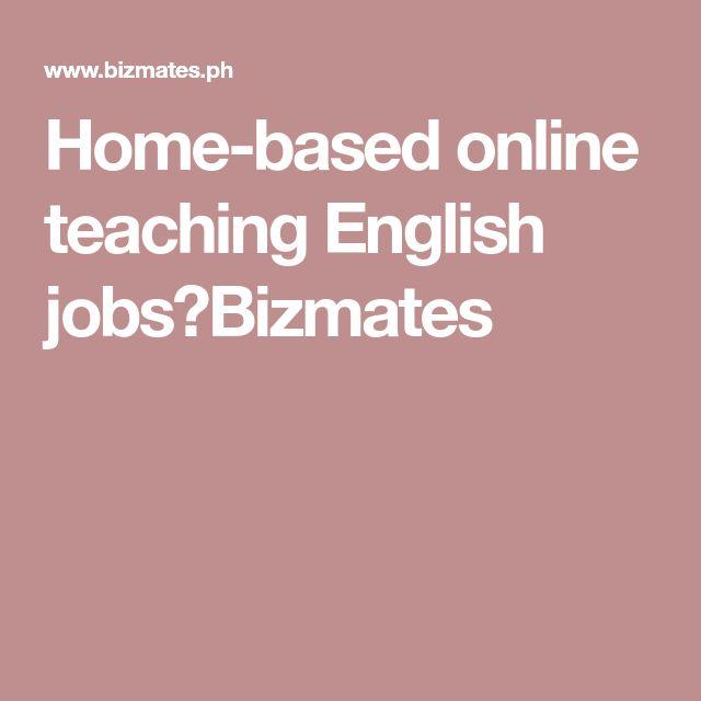 Home-based online teaching English jobs|Bizmates