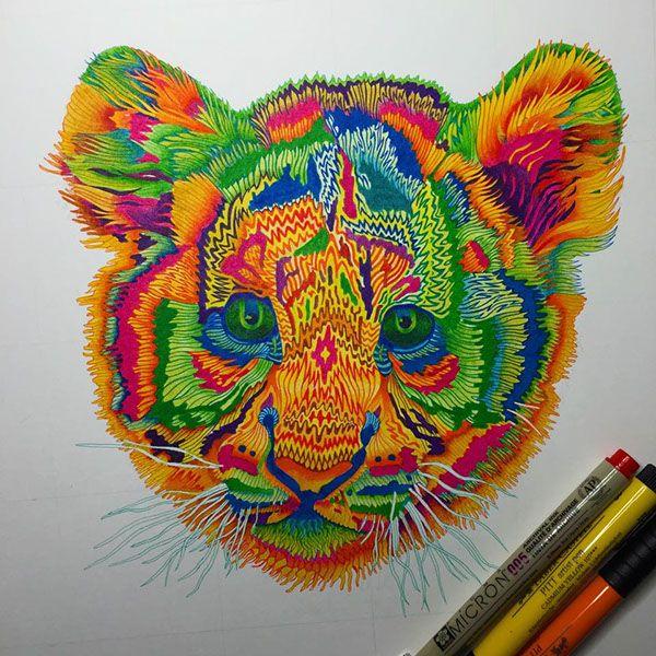 Tigerito on Behance