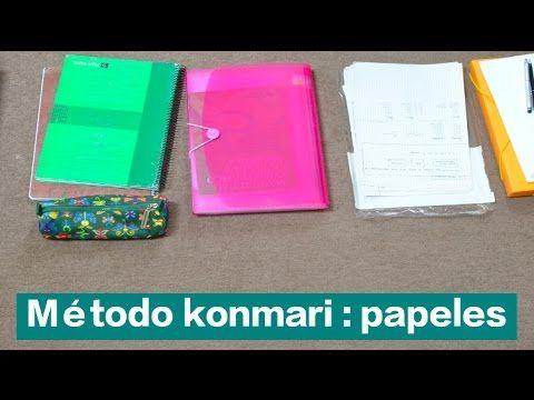 Organizar PAPELES y Documentos METODO KONMARI de Marie Kondo La magia de...