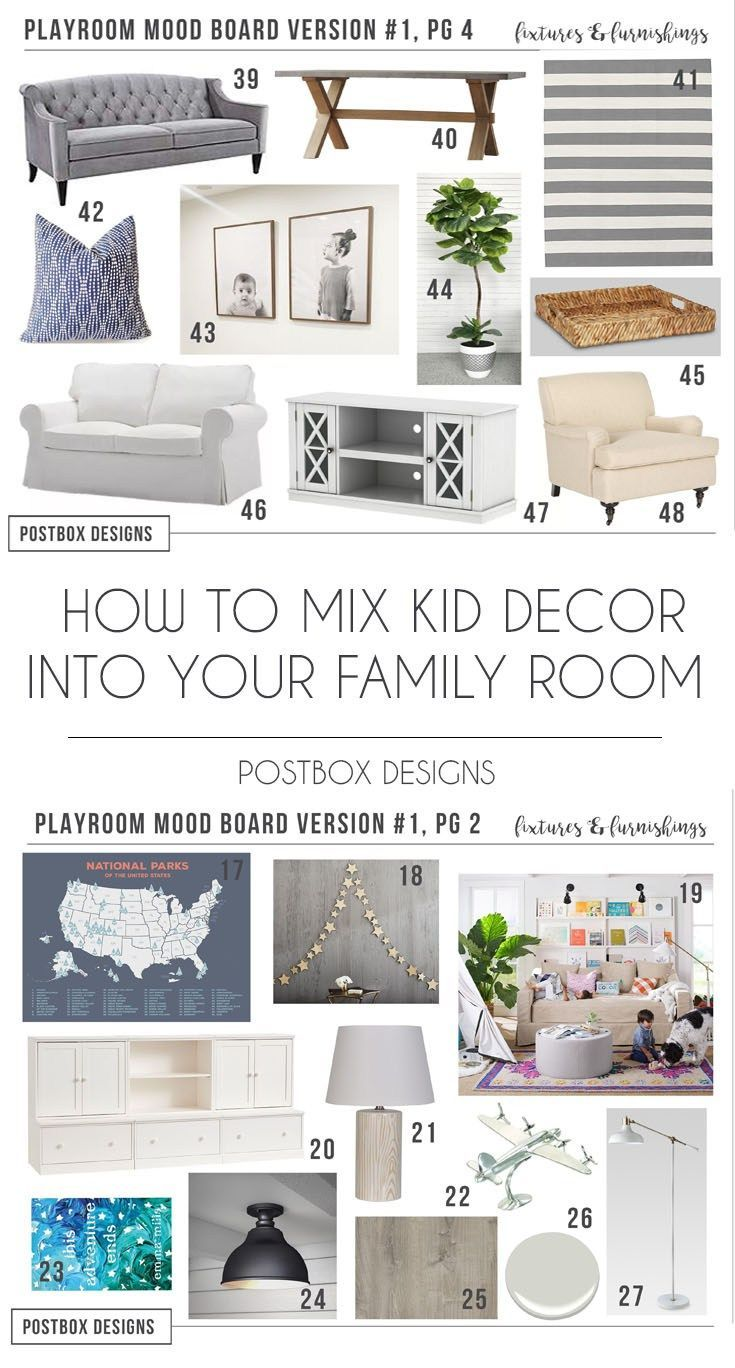 7 Steps to Create a Perfect Kid\'s Playroom Design, by Postbox ...