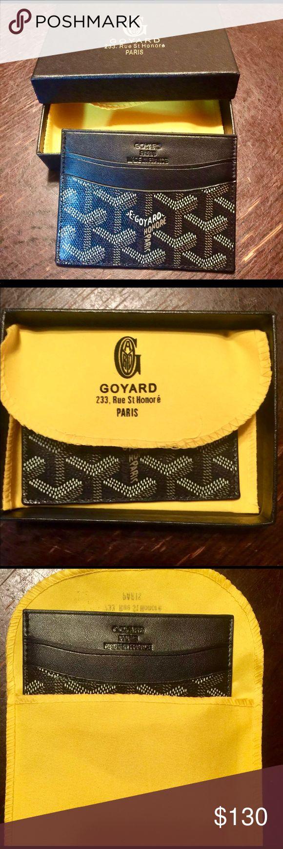 Goyard card holder Brand new with tags goyard card holder Goyard Accessories