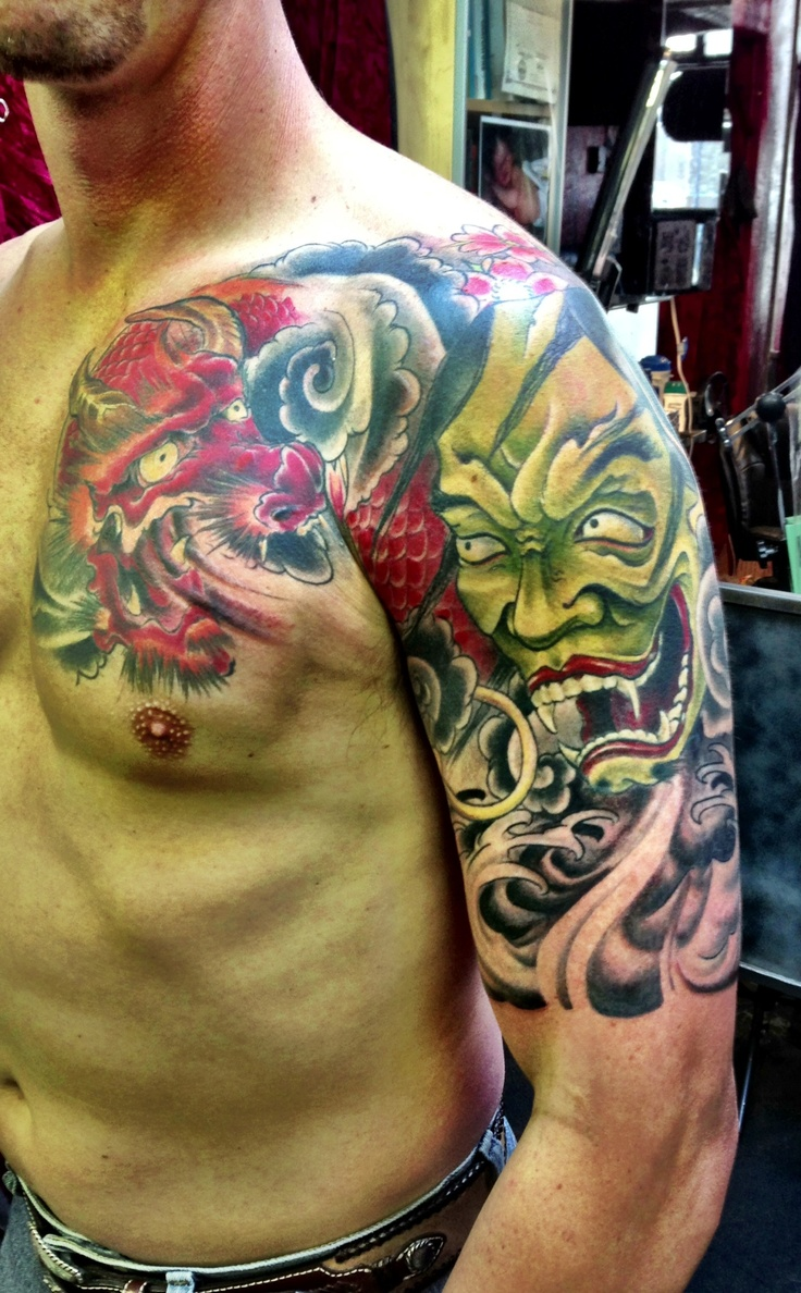 Hannya Mask Tattoo: 39 Best Images About Hannya Mask Tattoos On Pinterest