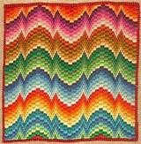 Four-way Bargello from Tripatalas.com